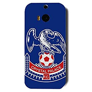 Blue Print Crystal Palace Football Club Logo Phone Case 3D Hard Plastic Csae Cover For Htc One M8