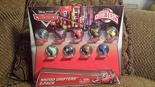 Disney Pixar Cars Micro Drifters 9 Pack (Micro Drifters Cars compare prices)