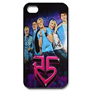 R5 Protective TPU Cases Back Cover (Black, White) For Iphone 4 4s