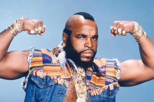 Mr. T Showing Muscles The A-Team 11x17 Mini Poster ()