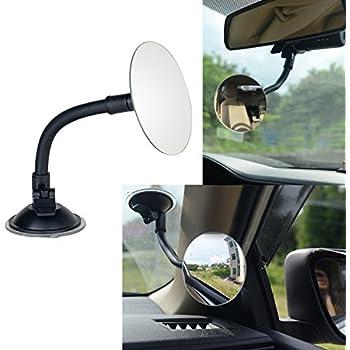 Amazon Com 3 35 Quot Round Blind Spot Mirror Rear Facing