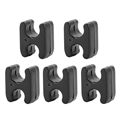 Delaman Scooter Accessories 5Pcs Cable Clip Spare Parts Accessories for Xiaomi Mijia M365 Electric Scooter : Sports & Outdoors