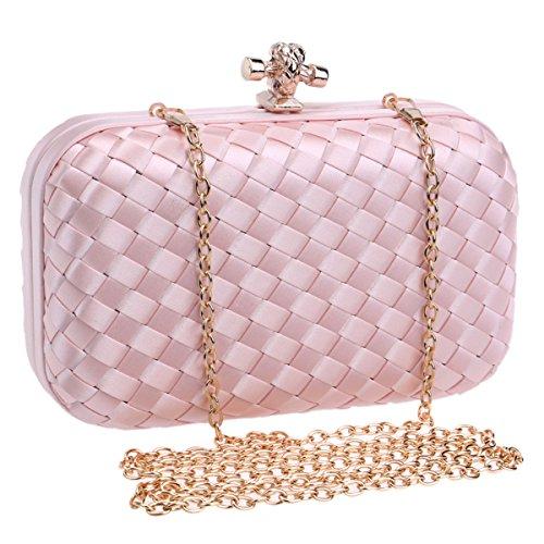 Woven Clutch Evening Handbags And For Party Bag Dinner Wedding D Bag Women rxZFxnw