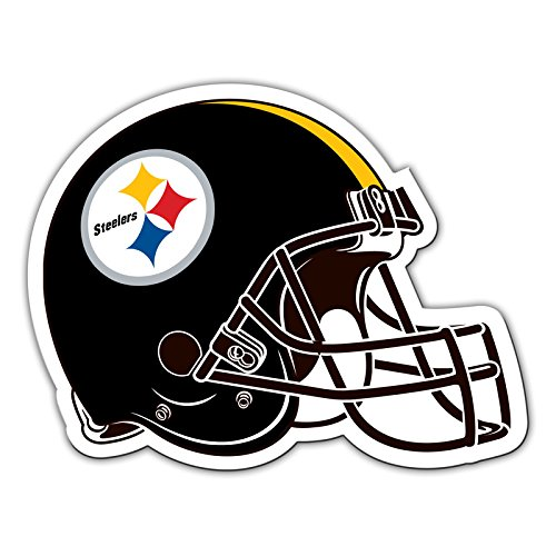 Pittsburgh Steelers Fremont Die NFL Shop Authentic 12 Magnet Team Banner Helmet//Logo