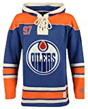 NHL Edmonton Oilers Conor McDavid Men's Player Lacer Name & Number Hoodie, X-Large, Multicolor