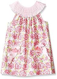 Mud Pie Little Girls\' Toddler Bunny Dress, Multi, 3T