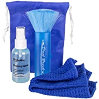 Computer Cleaner ColorWay–Superior Cleaning Kit with Spray Bottle, Microfiber Cloth, Cleaning Brush and Carrying Bag for Apple Laptop, iPhone, iPod, iPad, iMac, Samsung Galaxy, Monitor, Cell phone,HD,TV, LCD, LED,GPS, PS and XBOX, Keyboard and More
