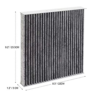 Puroma 2 Pack Cabin Air Filter with Activated Carbon, Replacement for CP134, CF10134, Honda & Acura, Civic, CR-V, Odyssey, CSX, ILX, MDX, RDX, AT134: Automotive