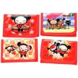 Pucca Trifold Wallet, Two Styles will be Sent Randomly
