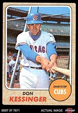 Amazoncom 1968 Topps 159 Don Kessinger Chicago Cubs Baseball