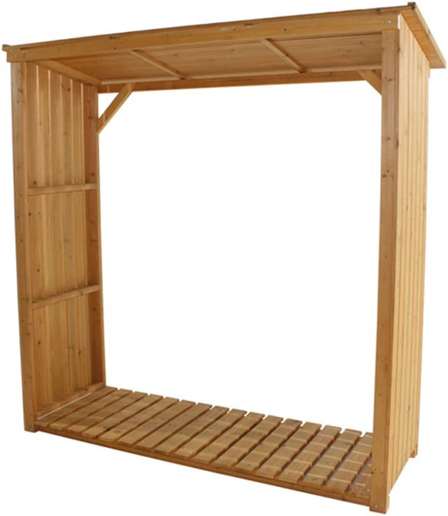 Siena Garden 671032 - Cubierta de madera de pino para chimenea ...