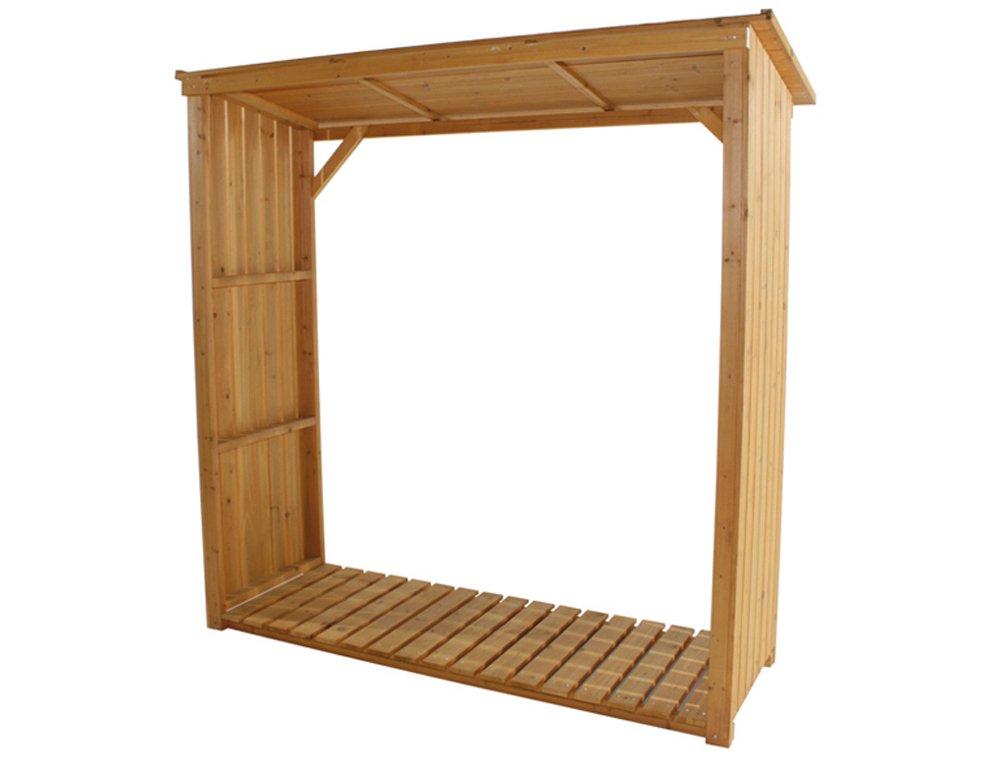 Siena Garden 671032 Support pour bois de cheminée Pin imprégné (Import Allemagne)