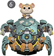 Funko Collectible Figure Pop! Games, Overwatch, Wrecking Ball, 6