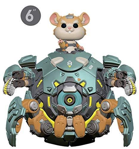 Funko- Pop Vinilo Overwatch S5 6 Wrecking Ball Figura Coleccionable, Multicolor (37432)