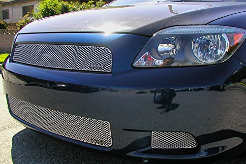 Grillcraft TOY1873S MX Series Silver Lower 3pc Mesh Grill Grille Insert for Scion TC