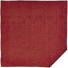 VHC Brands Cheyenne American Red King Quilt 95x105