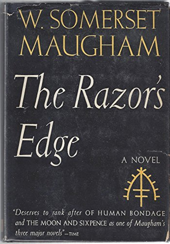 the razors edge essays The razor's edge then tells a standard story of self-discovery in which the young man drops out, becomes a bohemian in the paris of the 1920s, works as a coal miner, and takes a passage to india to discover the meaning of life.