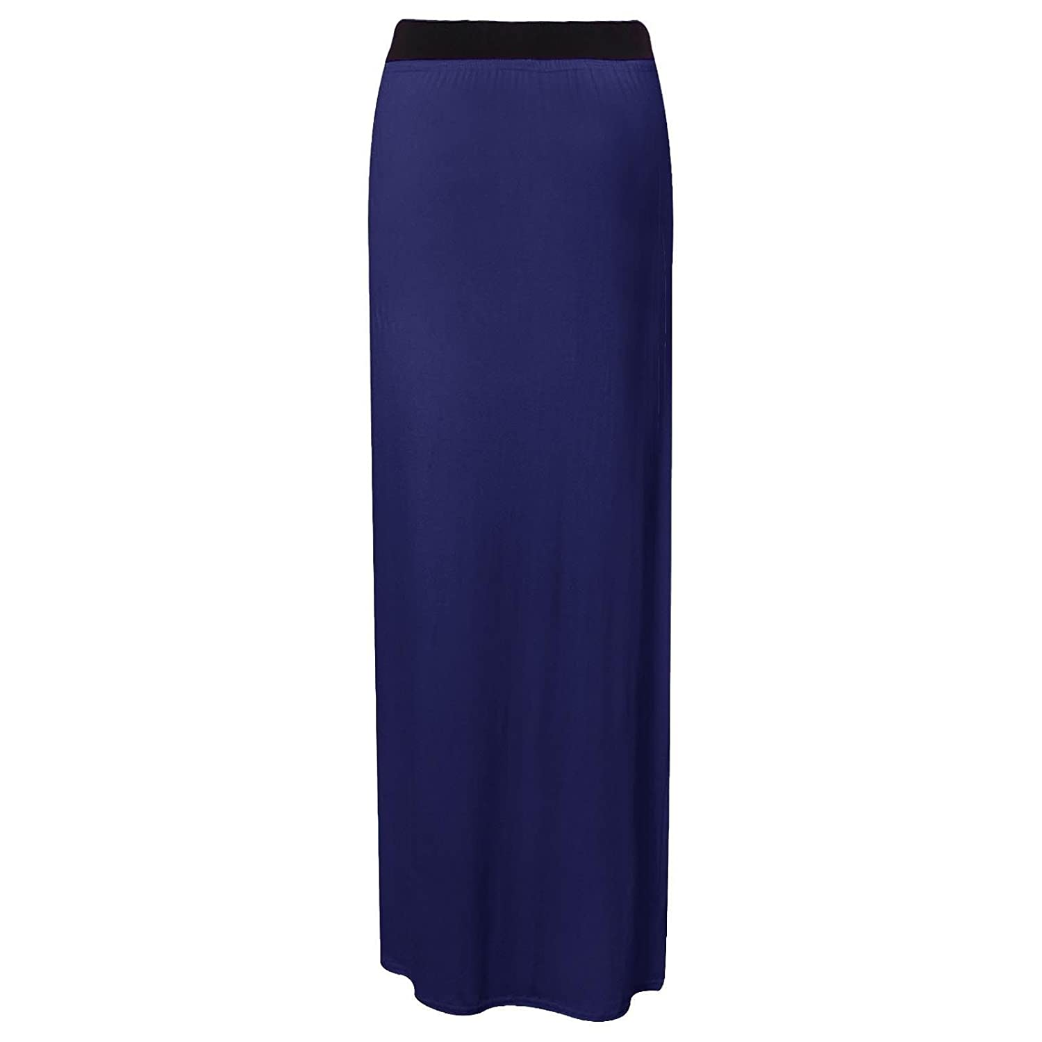 LADIES WOMEN/'S STRETCHY GYPSY SKIRT JERSEY LONG MAXI BODYCON SKIRT SIZE 8-26