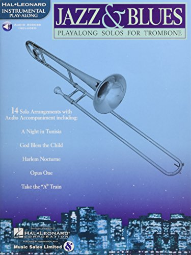 Jazz & Blues: Playalong Solos for Trombone - Hal Leonard Jazz Trombone