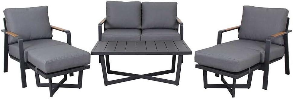 Meuble Lounge Outdoor outliv. Calw Salon de jardin 6 pièces ...