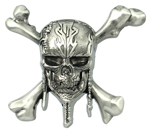 Disney Pirates of The Caribbean Skull Logo Pin Novelty for sale  Delivered anywhere in USA