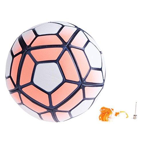 VT BigHome 2018 Size 5 Size soft PU Football Ball Anti-slip Machine Sewn Soccer Ball For Game Match Training Youth Kid Gifts