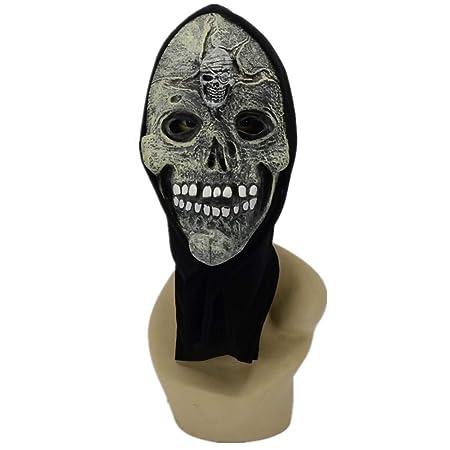 maschera bocca scheletro