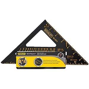 """Stanley 46-071 Premium Quick Square Layout Tool, 7"""""""