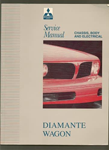 mitsubishi diamante wagon service manual 1993 1995 chassis body rh amazon com 1998 Mitsubishi Diamante Mitsubishi Eclipse