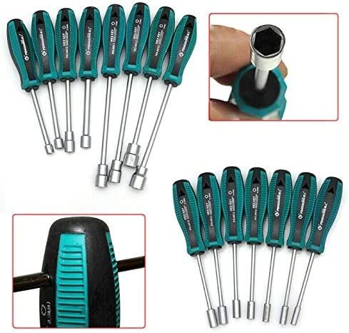 10MM SUPERTOOL Driver Wrench Screwdriver 1PCS Hex Socket Spanner Screwdriver Hand Tool for Household Auto Reparing