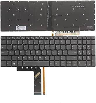 for Lenovo ThinkPad E570 E570c E575 Laptop No Backlight 1 Year Warranty AUTENS Replacement US Layout Keyboard