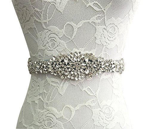 Sisjuly Rhinestone Crystal Wedding Evening product image