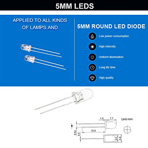 3mm-and-5mm-Clear-Diffused-LED-Emitting-Diodes-Light-Assorted-Kit