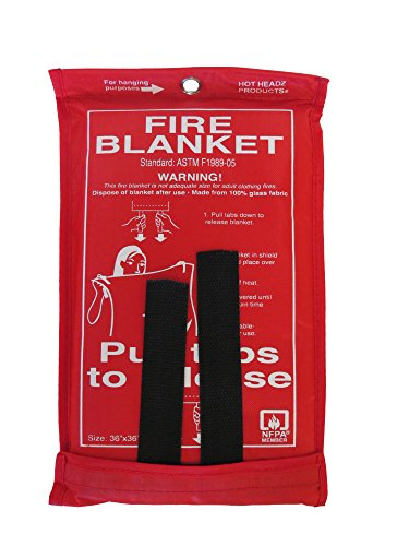 Hot-Headz-Fire-Blanket-36-x-36-Inch-Red