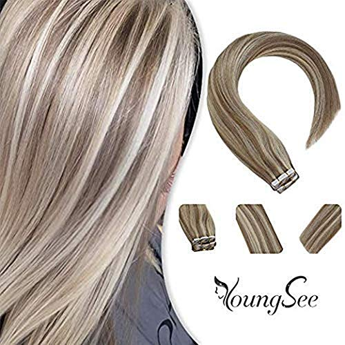Youngsee 24inches Extensions Blonde Highlight