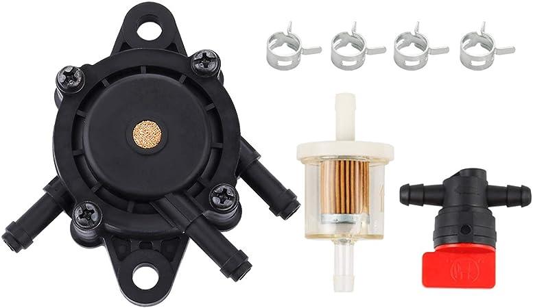 Amazon.com : Hipa 49040-2075 Fuel Pump + Fuel Filter for Kawasaki FH680D  FH680V FH721D FH721V FH381V FH770D FD731V FX730V FX751V FX801V FX850V  Engine Lawn Mower : Garden & OutdoorAmazon.com