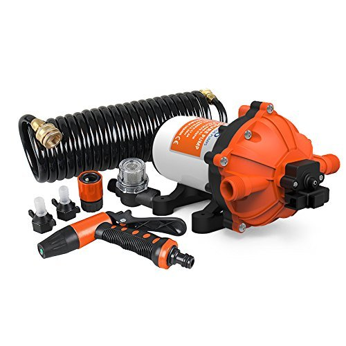 SEAFLO Washdown Deck Wash Pump KIT 12v 70 PSI 5.0 GPM 18.9 LPM for Caravan Rv Boat Marine Yacht -Fba by Seaflo