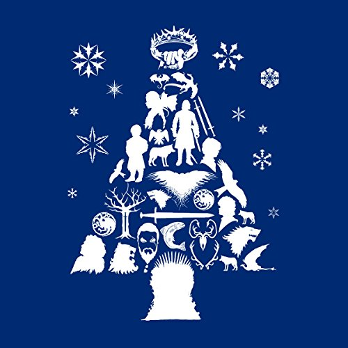 Thrones Game Royal Christmas Silhouette white Of Varsity Tree Men's Jacket wCqCxO754