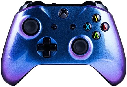 Xbox One S Customized Wireless Controller for Microsoft Xbox One - Color Changing Chameleon X1 - Compatible with Xbox Series X|S