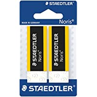 STAEDTLER 526 N20BK2 - Pack of 1 blister with 2 erasers Noris