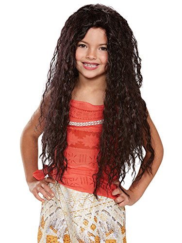 : Moana Deluxe Child Wig, One Size