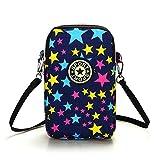 Multifunction Cell Phone Bag Purse Mini Shoulder CrossbodyWallet Zipper Long Coin Purse Wristlet Handbag Clutch Tote