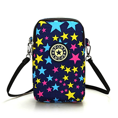 Multifunction Cell Phone Bag Purse Mini Shoulder Crossbody Wallet Zipper Long Coin Purse Wristlet Handbag Clutch Tote by Bags us