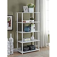 Mainstays No Tools Assembly 8-Cube Shelving Storage Unit, Multiple Colors (White)