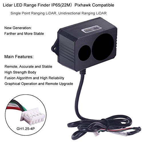 MakerFocus Distance Sensor Lidar Laser Range Finder