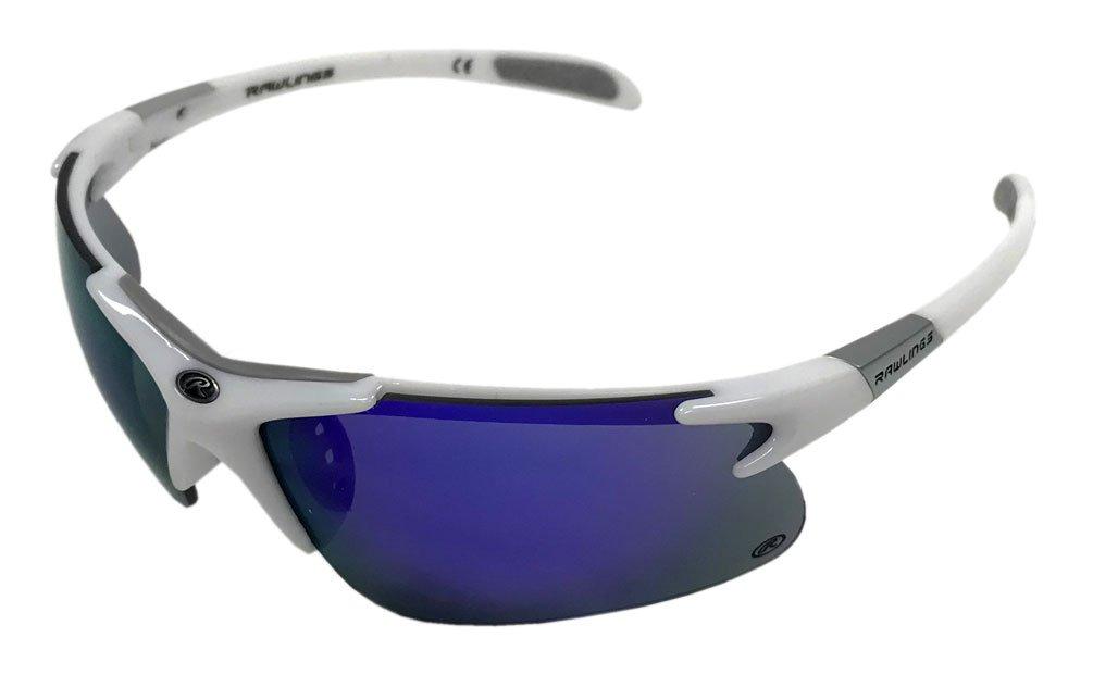 Rawlings 10218019.QTS Mens Sport Sunglasses White/Purple