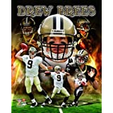 DREW BREES - PHOTO 8 x 10 Glossy New Orleans Saints NFL Licensed Sealed New
