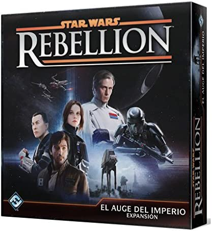 Fantasy Flight Games- Star Wars Rebellion: El Auge del Imperio ...
