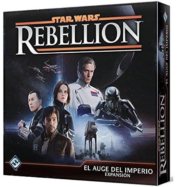 Fantasy Flight Games- Star Wars Rebellion: El Auge del Imperio - Expansión Juego de Mesa, Multicolor (FFSW04): Amazon.es: Juguetes y juegos