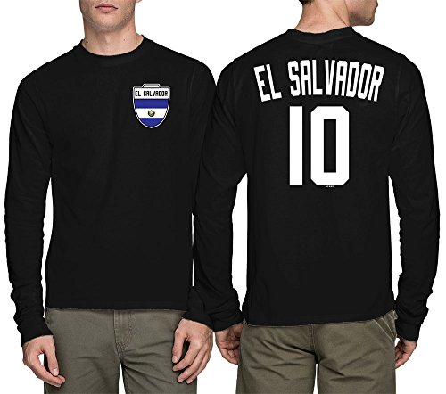 HAASE UNLIMITED Long Sleeve Mens El Salvador Salvadorian for sale  Delivered anywhere in USA